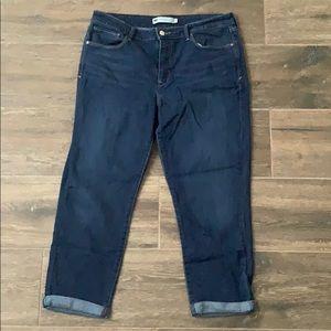 Levi's skinny crop jeans stretchy! Size 16